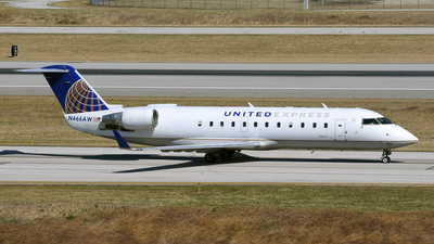 N466AW - Bombardier CRJ-200ER - United Express (Air Wisconsin)