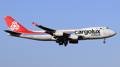 A picture of LXSCV - Boeing 7474R7(F) - Cargolux - © NRT Spotter
