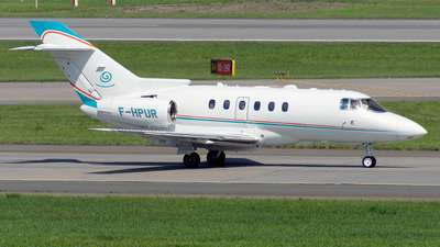 F-HPUR - Raytheon Hawker 800XP - VallJet