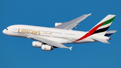 A6-EUI - Airbus A380-861 - Emirates