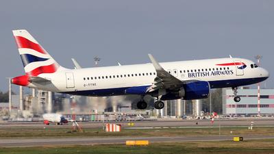 A picture of GTTNE - Airbus A320251N - British Airways - © Alberto Cucini