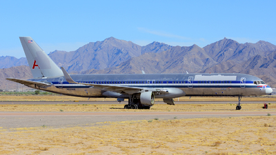 A picture of N605AA - Boeing 757223 - [27056] - © Agustin Anaya