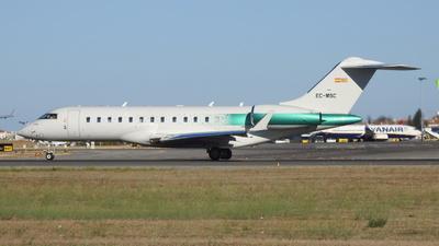 EC-MSC - Bombardier BD-700-1A10 Global 6000 - Private