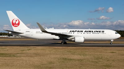 JA618J - Boeing 767-346(ER) - Japan Airlines (JAL)