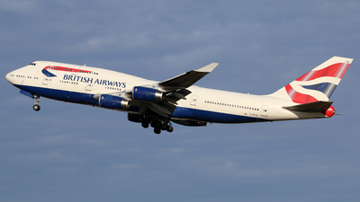 G-BYGG - Boeing 747-436 - British Airways