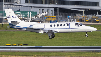 OM-ATS - Cessna 550B Citation Bravo - Air Transport Europe (ATE)