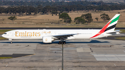 A picture of A6EBM - Boeing 77731H(ER) - Emirates - © Nicholas Kimura