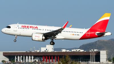 A picture of ECNDN - Airbus A320251N - Iberia - © George Chaidaris