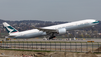 B-KPG - Boeing 777-367ER - Cathay Pacific Airways