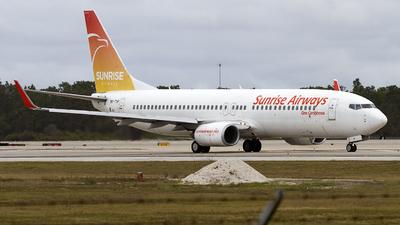 OK-TVP - Boeing 737-8K5 - Sunrise Airways