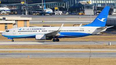 A picture of B5162 - Boeing 73785C - Xiamen Air - © Railgun