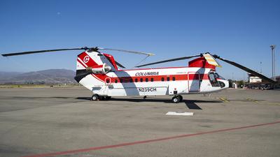 A picture of N239CH - Boeing Vertol 234 - [MJ006] - © Javier Vera