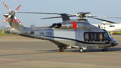 HB-ZQK - Agusta-Westland AW-139 - Swiss Jet