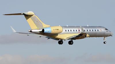 C-FPMU - Bombardier BD-700-1A11 Global 5000 - Private
