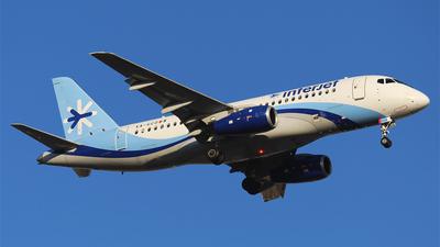 A picture of XAGCD - Sukhoi Superjet 10095B - Interjet - © Alejandro Aceves