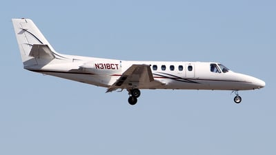 A picture of N318CT - Cessna 560 Citation V - [5600081] - © toyo_69pr