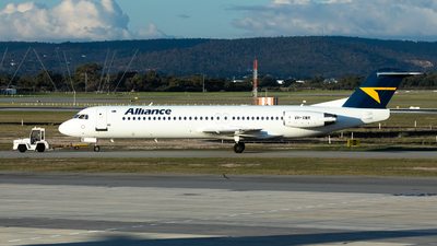 VH-XWR - Fokker 100 - Alliance Airlines