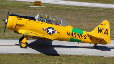N452WA - North American SNJ-6 Texan - Warbird Adventures