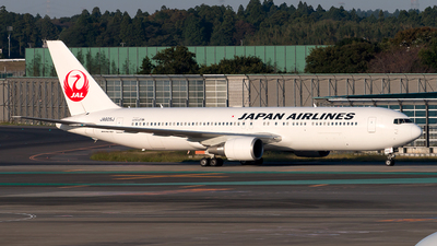 JA605J - Boeing 767-346(ER) - Japan Airlines (JAL)