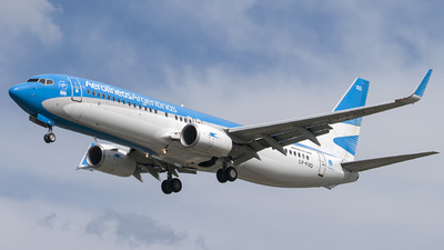 A picture of LVFXQ - Boeing 7378MB - Aerolineas Argentinas - © eze.ph