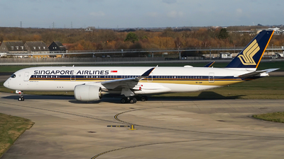 A picture of 9VSMP - Airbus A350941 - Singapore Airlines - © Simon330lover