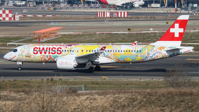 HB-JCA - Bombardier CSeries CS300 - Swiss
