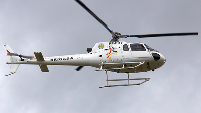 PP-EHY - Helibrás HB-350B Esquilo - Brazil - Military Police of Rio Grande do Sul State