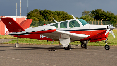 HB-EFM - Beechcraft V35 Bonanza - Private