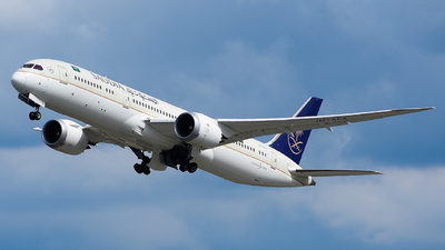 A picture of HZARA - Boeing 7879 Dreamliner - Saudia - © Luca Cesati