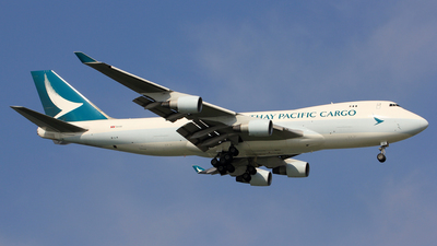 B-LIA - Boeing 747-467ERF - Cathay Pacific Cargo
