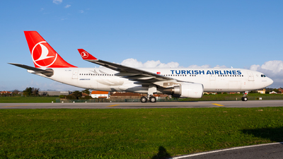 A picture of TCJNA - Airbus A330203 - Turkish Airlines - © Carlos Miguel Seabra