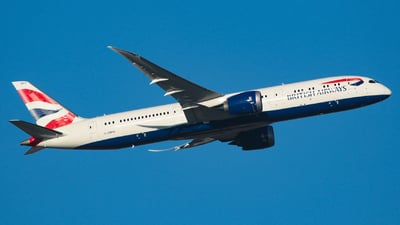 G-ZBKG - Boeing 787-9 Dreamliner - British Airways