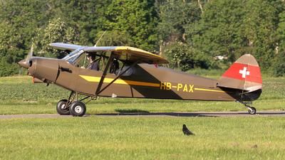 HB-PAX - Piper PA-18-150 Super Cub - Private