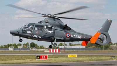 F-HYHN - Eurocopter AS 365N3 Dauphin - France - Navy (Noordzee Helikopters Vlaanderen (NHV))