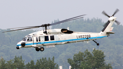 LH92200 - Sikorsky S-70C-2 Black Hawk - China - Army