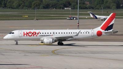 F-HBLH - Embraer 190-100STD - HOP! for Air France