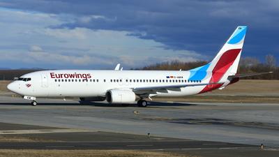 D-ABKM - Boeing 737-86J - Eurowings