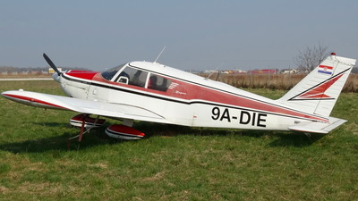 9A-DIE - Piper PA-28-235 Cherokee  - Private