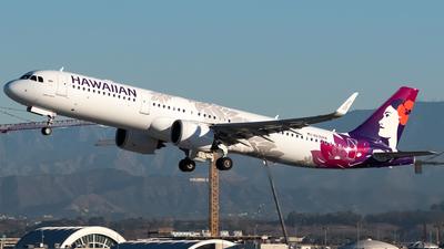 A picture of N230HA - Airbus A321271N - Hawaiian Airlines - © Ricky Teteris