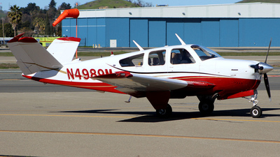 N4989M - Beechcraft V35B Bonanza - Private