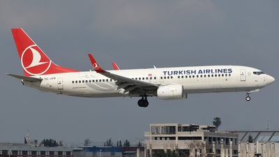 A picture of TCJVD - Boeing 7378F2 - Turkish Airlines - © Savas binici