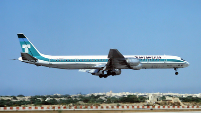 N4866T - Douglas DC-8-73(CF) - Transamerica Airlines