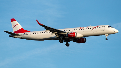 OE-LWM - Embraer 190-200LR - Austrian Airlines