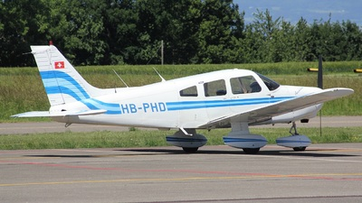 HB-PHD - Piper PA-28-161 Warrior II - Private