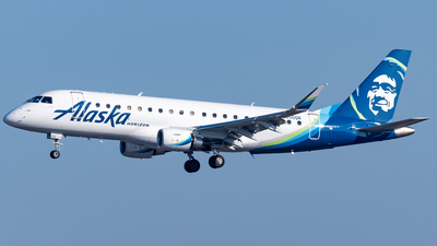 A picture of N650QX - Embraer E175LR - Alaska Airlines - © Ricky Teteris