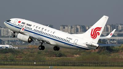 B-5803 - Boeing 737-79L - Air China