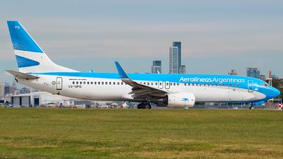 LV-GFQ - Boeing 737-8SH - Aerolíneas Argentinas