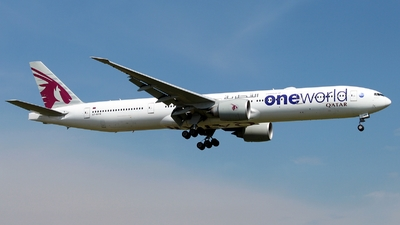 A7-BAB - Boeing 777-3DZER - Qatar Airways