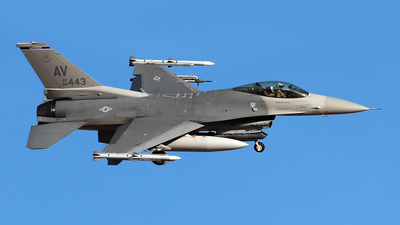 88-0443 - General Dynamics F-16C Fighting Falcon - United States - US Air Force (USAF)