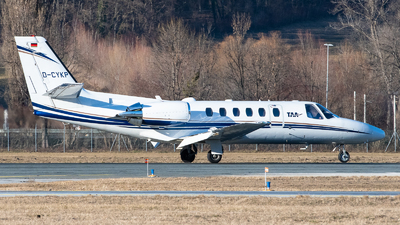 D-CYKP - Cessna 550B Citation Bravo - Private